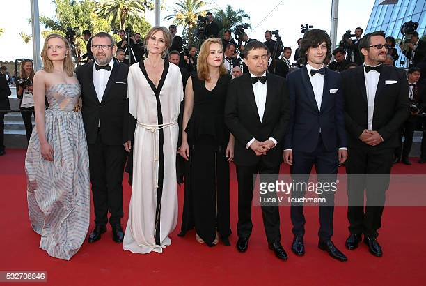 Maria Dragus Adrian Titieni Lia Bugnar Malina Manovici Cristian Mungiu Rares Andri and guest attend the 'Graduation ' Premiere during the 69th annual...