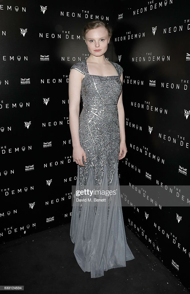 Neon Demon After Party in Association with BULLDOG Gin - The 69th Annual Cannes Film Festival : News Photo