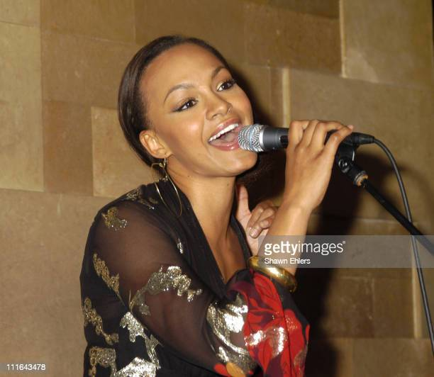 Maria during Showcase by Dreamworks Recording Artist Maria at Lotus in New York City, New York, United States.