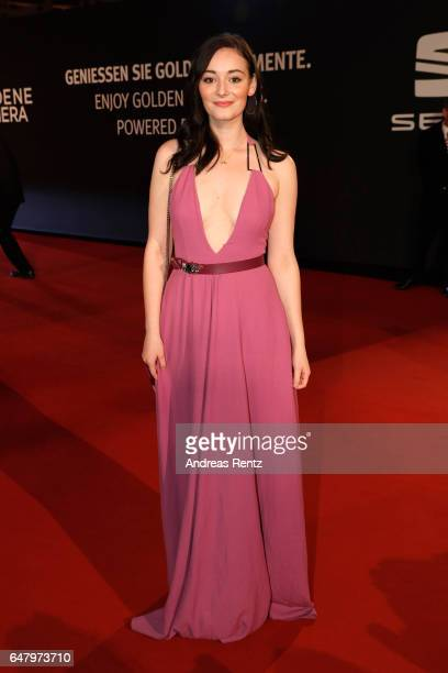 Maria Ehrich arrives for the Goldene Kamera on March 4 2017 in Hamburg Germany
