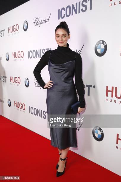 Maria Ehrich attends the Young ICONs Award in cooperation with ICONIST at SpindlerKlatt on February 14 2018 in Berlin Germany