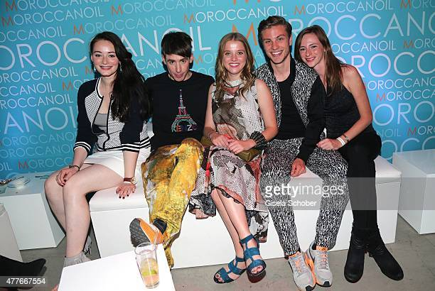 Maria Ehrich Kilian Kerner Jella Haase Jannik Schuemann Carolyn Genzkow during the New Faces Award Film 2015 at ewerk on June 18 2015 in Berlin...