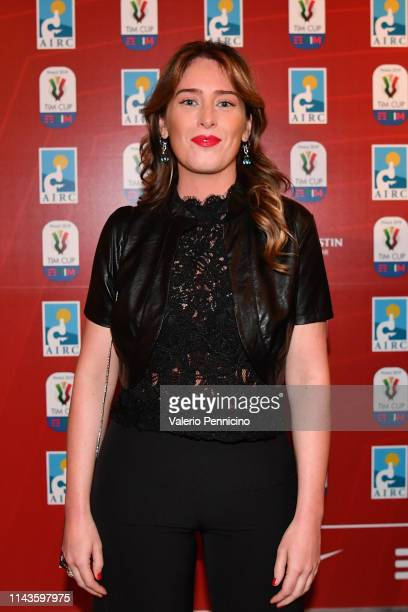Maria Elena Boschi attends during the Charity Gala Dinner on May 13 2019 in Rome Italy