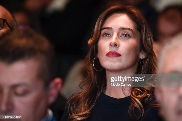 Maria Elena Boschi attends 'Shock' meeting 'Shock' is a meeting organized by the political party Italia Viva to discuss how to improve Italian economy