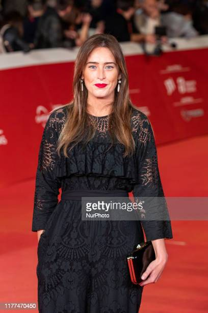 Maria Elena Boschi attends ''The Irishman'' red carpet during the 14th Rome Film Festival on October 21 2019 in Rome Italy