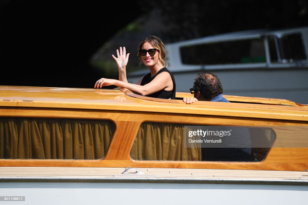 Celebrity Sightings at the 74th Venice Film Festival - August 31, 2017 : News Photo