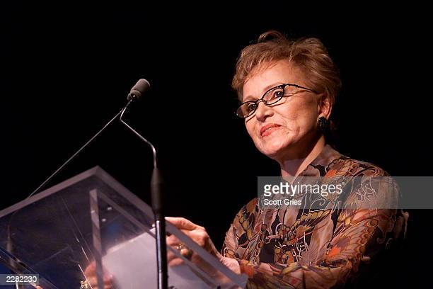 Maria Elena Holly at the Songwriters Hall of Fame 32nd Annual Awards at Sheraton New York Hotel and Towers in New York City June 14 2001 Photo Scott...
