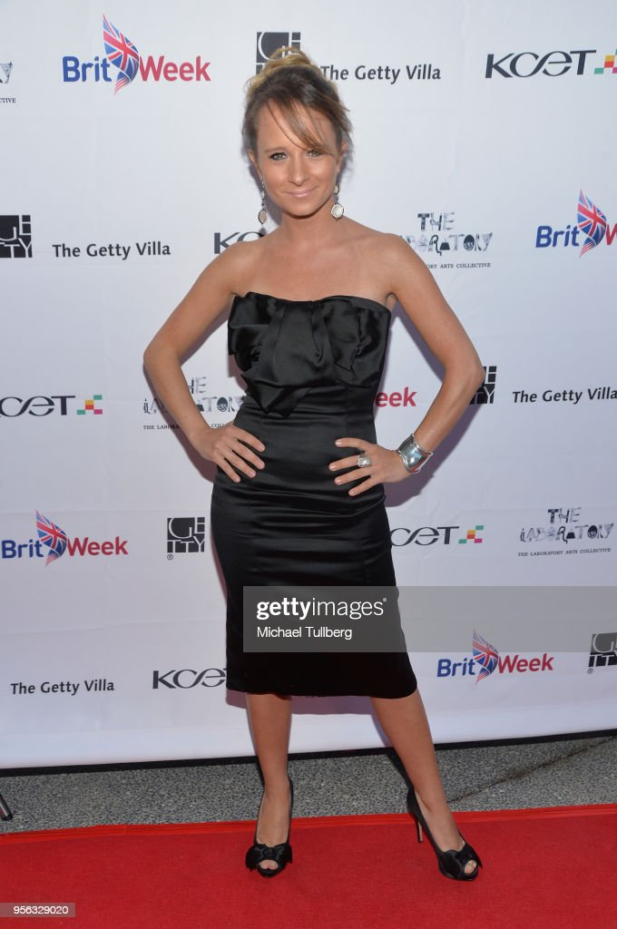 Maria Elena Infantino attends BritWeek at The Getty Villa on May 8, 2018 in Pacific Palisades, California.