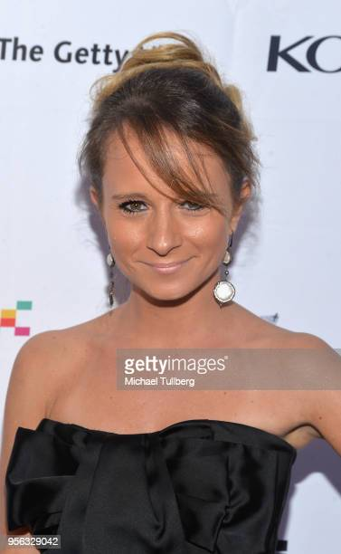 Maria Elena Infantino attends BritWeek at The Getty Villa on May 8 2018 in Pacific Palisades California