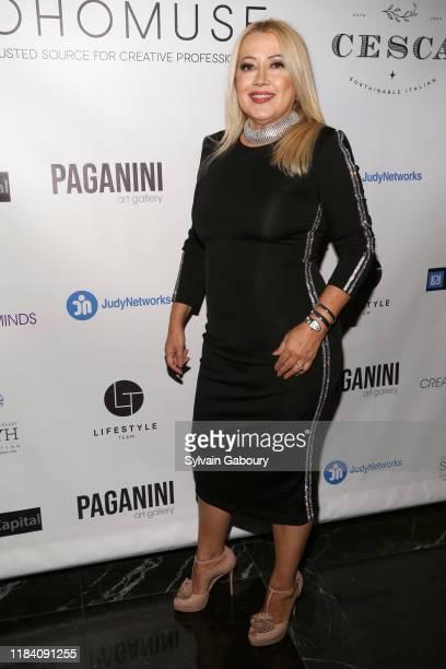 Maria Elena Paganini attends PAGANINI HONORS PAGANINI A Tribute To Niccolo Paganini By Maria Elena Paganini on October 28 2019 in New York City