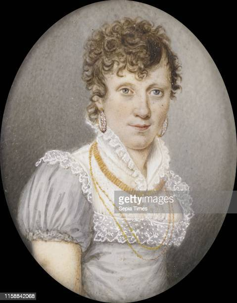 Maria Elisabeth Schreiber . Echtgenote van Georg Albrecht Diederichs, Anonymous, c. 1810