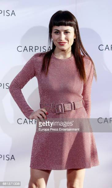Maria Escote attends the opening of new Carpisa stores on May 9 2017 in Madrid Spain