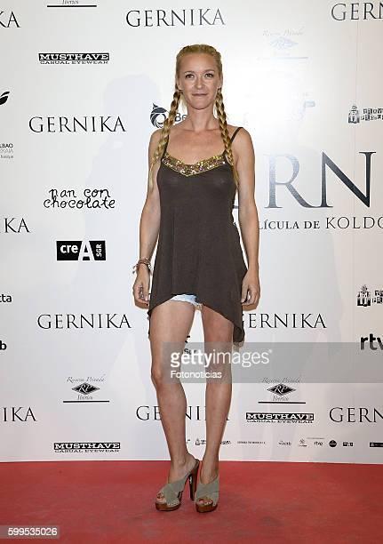 Maria Esteve attends the 'Gernika' premiere at Palafox cinema on September 5 2016 in Madrid Spain