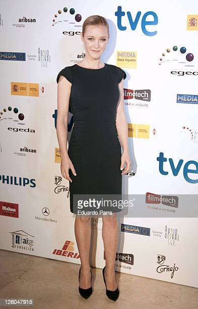 Maria Esteve attends the Jose Maria Forque awards photocall at Royal Theatre on December 17 2010 in Madrid Spain