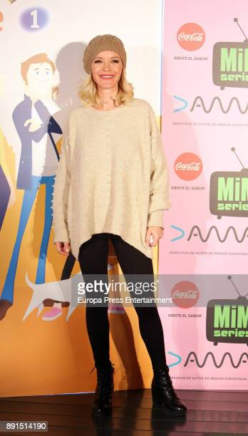 Maria Esteve attends the Presentation of 'Sabuesos' TVE during Mim Series Festival on December 12 2017 in Madrid Spain