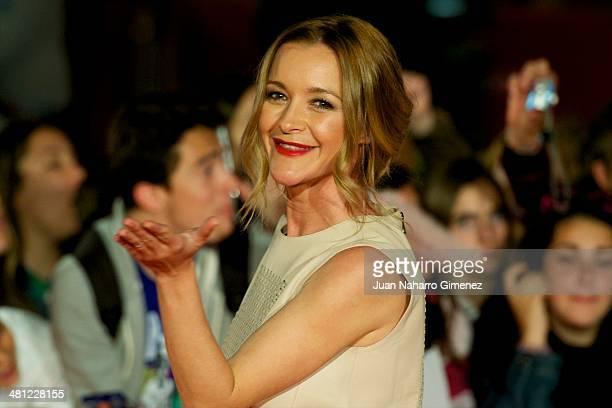 Maria Estevez attends 'La Vida Inesperada' premiere during the 17th Malaga Film Festival 2014 at Teatro Cervantes on March 28 2014 in Malaga Spain