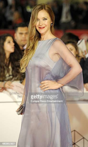 Maria Estevez attends the 17th Malaga Film Festival opening ceremony on March 21 2014 in Malaga Spain