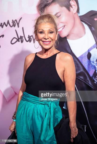 Maria Eugenia Llada aka Jenny Llada attends Carlos Baute concert at La Riviera on May 24 2019 in Madrid Spain