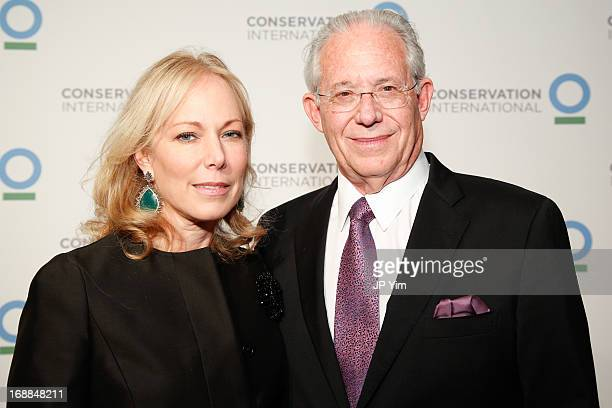 Maria Eugenia Maury and William Haseltine attend the Conservation International 16th Annual New York Dinner at The Plaza Hotel on May 15 2013 in New...