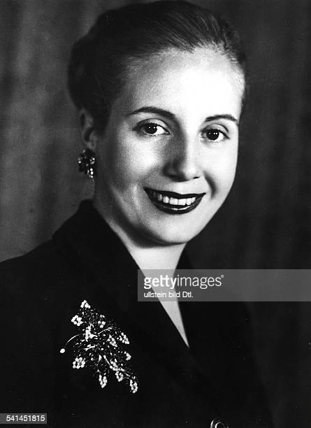EVA PERON Maria Eva Duarte de Per¾n called Evita Second wife of Argentine President Juan Domingo Per¾n and First Lady of Argentina from 1946 to 1952...