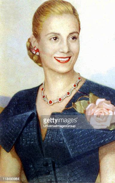 Maria Eva Duarte de Peron 7 May 1919 26 July 1952 was the second wife of President Juan Peron and served as the First Lady of Argentina from 1946...