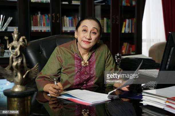 Maria Farida Indrati a justice at the Constitutional Court of Indonesia poses for a photograph in Jakarta Indonesia on Wednesday Sept 27 2017...