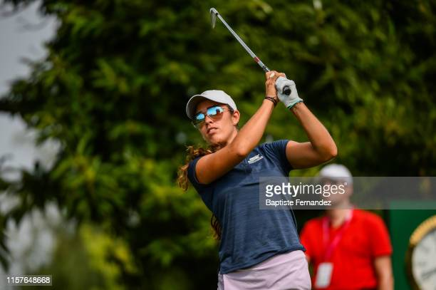 Maria Fassi of Mexico during day 1 of the french Open Evian Championship on July 25 2019 in EvianlesBains France