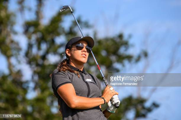 Maria Fassi of Mexico during Day 2 of the Evian Championship French Open on July 26 2019 in EvianlesBains France