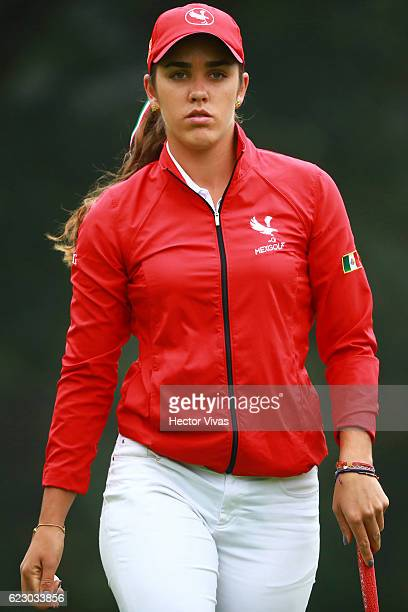 Maria Fassi of Mexico during the final round of the Lorena Ochoa Invitational 2016 at Club de Golf on November 13 2016 in Mexico City Mexico