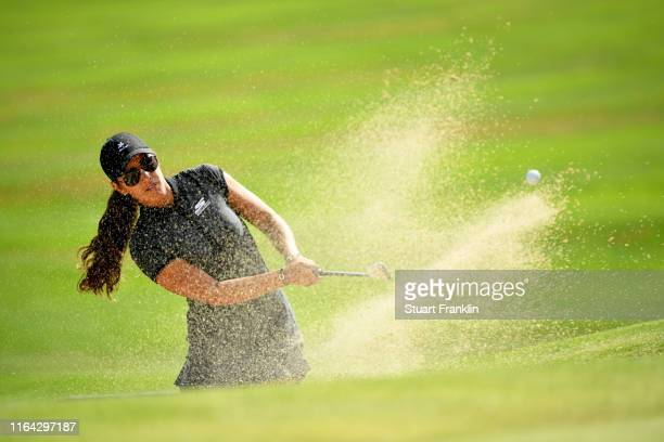 Maria Fassi of Mexico on the ninth during day 2 of the Evian Championship at Evian Resort Golf Club on July 26 2019 in EvianlesBains France