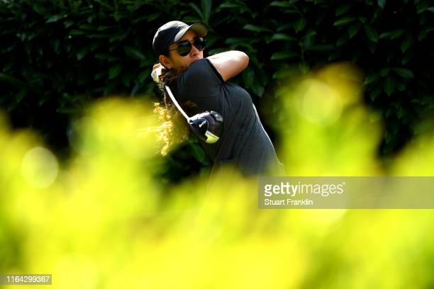 Maria Fassi of Mexico on the tenth during day 2 of the Evian Championship at Evian Resort Golf Club on July 26 2019 in EvianlesBains France
