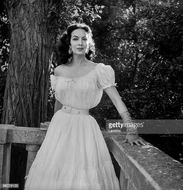 Maria Felix Mexican actress Festival of Venice 1954 LIP062063084