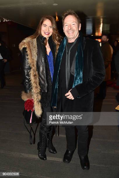 Maria Figueredo and Simon Kirke attend The Cinema Society Bluemercury host the premiere of IFC Films' 'Freak Show' at Landmark Sunshine Cinema on...