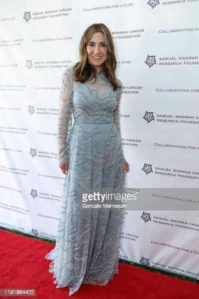 Maria Fishel during the Samuel Waxman Cancer Research Foundation's 15th Annual Hamptons Happening on July 13 2019 in Bridgehampton New York