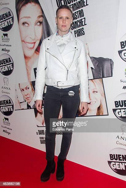 Maria Forque attends 'Buena Gente' premiere at Rialto theatre on February 19, 2015 in Madrid, Spain.
