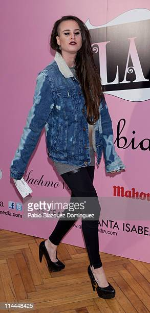 Maria Forque attends 'La Gran Depresion' premiere at Infanta Isabel Theatre on May 19 2011 in Madrid Spain
