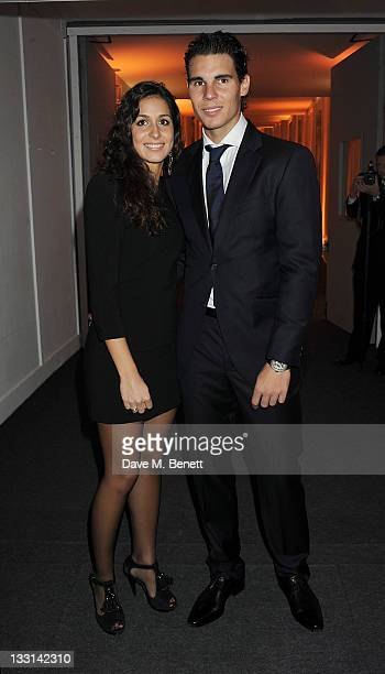 Maria Francisca Perello and tennis player Rafael Nadal attend 'A Night With The Stars' Barclays ATP World Tour Finals Gala hosted by Great Ormond...