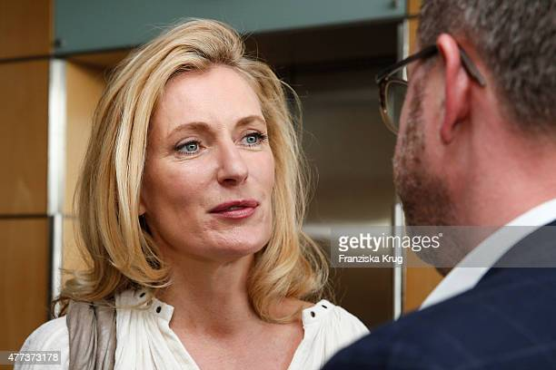 Maria Furtwaengler and Christian Krug attend the STERN And CAPITAL Summer Party on June 16 2015 in Berlin Germany