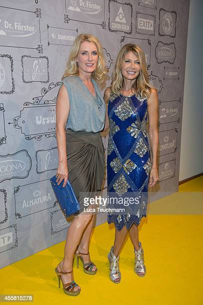 Maria Furtwaengler and Ursula Karven attend at the Ursula Karven Celebrates 50th Birthday on September 20 2014 in Berlin Germany