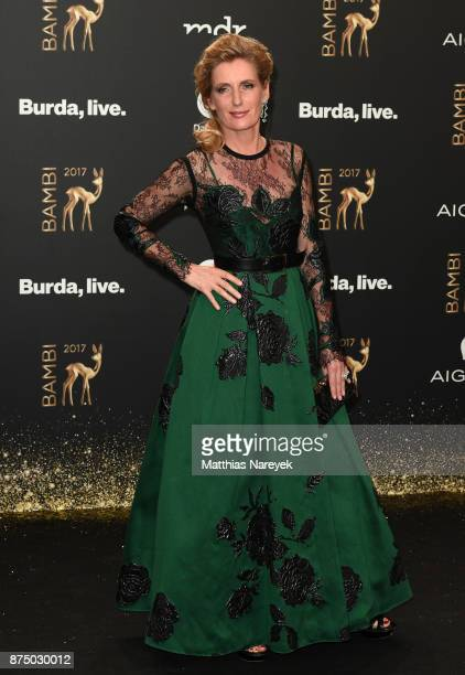 Maria Furtwaengler arrives at the Bambi Awards 2017 at Stage Theater on November 16 2017 in Berlin Germany
