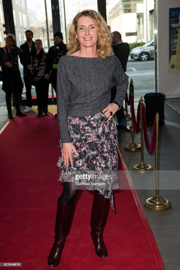 Maria Furtwaengler attends the Hessian Reception during the 68th Berlinale International Film Festival on February 20, 2018 in Berlin, Germany.