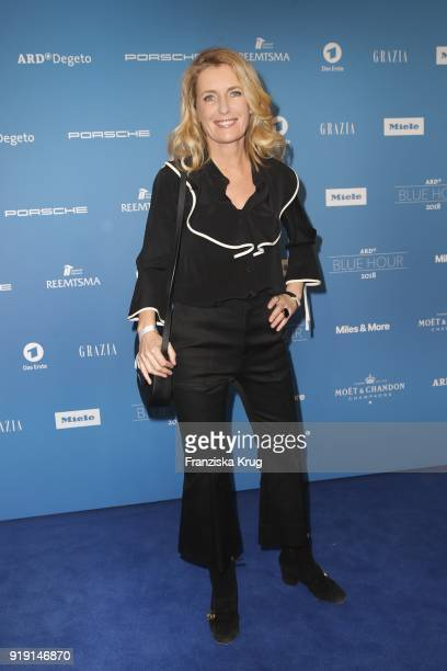 Maria Furtwaengler attends the Porsche at Blue Hour Party hosted by ARD during the 68th Berlinale International Film Festival Berlin at Museum fuer...