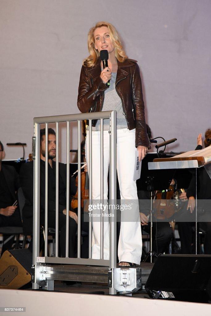 Maria Furtwaengler during the UFA Filmnaechte Berlin Reception on August 22, 2015 in Berlin, Germany.