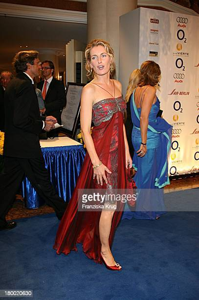 Maria Furtwängler Bei Der United People Charity Night 2006 Zugunsten PowerChild Im Hotel Bayrischen Hof In München