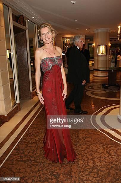 Maria Furtwängler Bei Der United People Charity Night2006 Zugunsten PowerChild Im Hotel Bayrischen Hof In München