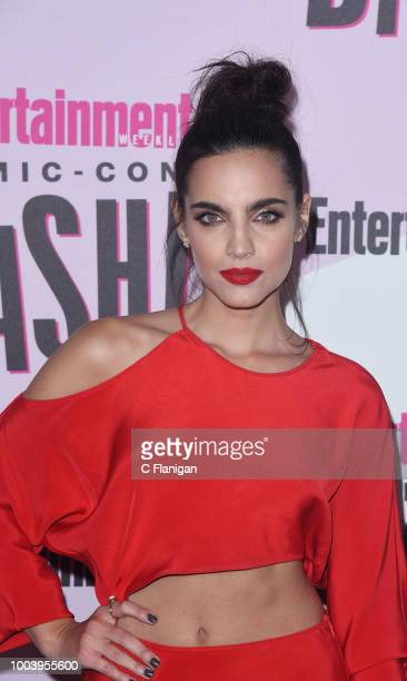 Maria Gabriela de Faria attends the annual Entertainment Weekly ComicCon Celebration at Float at Hard Rock Hotel San Diego on July 21 2018 in San...