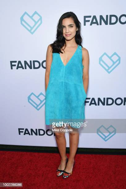 Maria Gabriela de Faria attends the Fandom Party during ComicCon International 2018 at Float at Hard Rock Hotel San Diego on July 19 2018 in San...