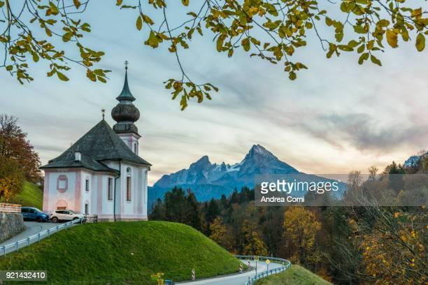 Maria Gern Chapel, Berchtesgaden, Bavaria, Germany, Europe