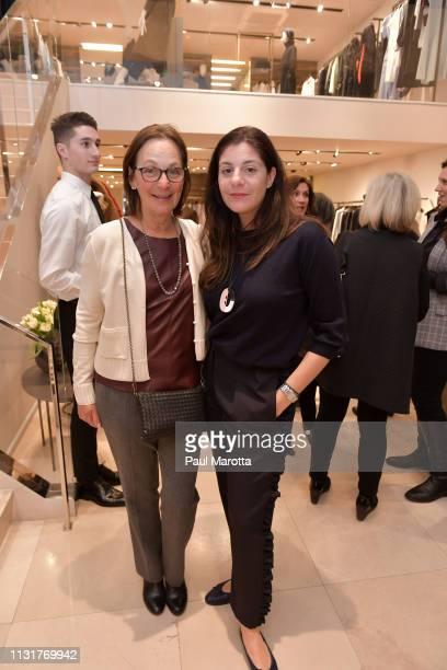 Maria Giulia Maramotti and guests attend the Max Mara Celebrates Huma Bhabha 'They Live' At ICA/Boston on March 20 2019 in Boston Massachusetts