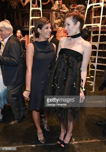 Maria Giulia Maramotti and Lauren Hammersley attend the Max Mara presents The Power Plant's Power Ball XVII Appetite For Excess at Power Plant...